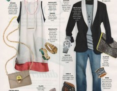 Camille Zarsky in InStyle